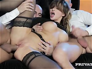pointy hooter Anna Polina Gets Some tough dp