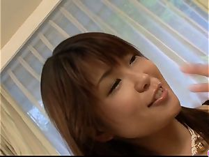Yuuno Hoshi extra off the hook porno have fun in pov mode