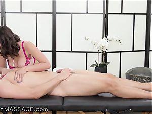 masseur Ella Knox And Her european brutha In Law