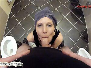 bathroom pov dt with sexy milf Viktoria - GGG