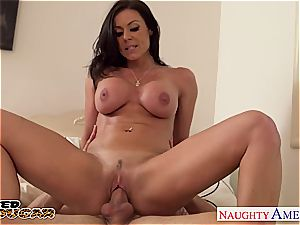 charming Kendra eagerness torn up and left with jizm on her