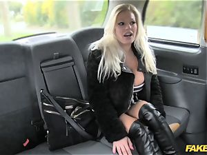 faux taxi superstar makes debut in london cab