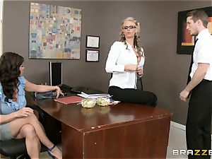cougar threesome with Phoenix Marie and Kendra passion