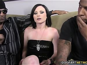 Veruca James gets DPd and gang-fucked by BBCs