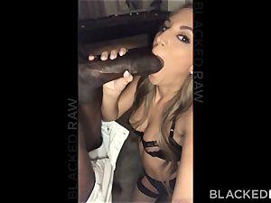BLACKEDRAW trendy hot wifey ruined by big black cock