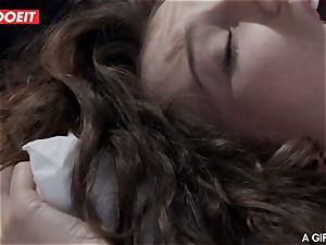 LETSDOEIT - super-hot girl/girl teenagers poke rigid In the Morning