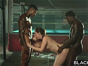 BLACKED Tori black Is lubricated Up And dominated By 2 BBCs