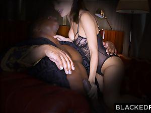 BLACKEDRAW wifey luvs his meaty black spunk-pump a little too much