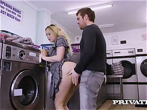 Private.com - Mia Malkova gets screwed in the laundry