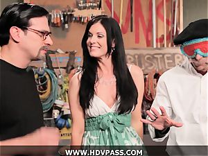 mummy Busters India Summer boinked with money-shot