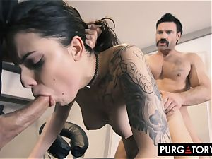 PURGATORY I let my wife poke two dudes in front of me
