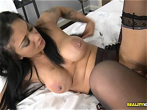 Mai Bailey drills on camera for a appetizing deal