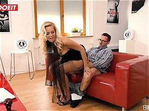 LETSDOEIT - scorching assistant pummeled hard-core At casting