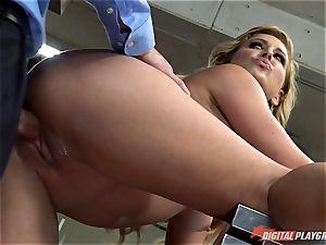 Cherie Deville rammed by Billy Bailey