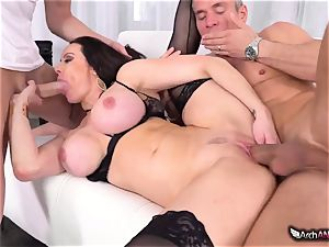 Markus Dupree, Mike Blue and mischievous milf Kendra eagerness