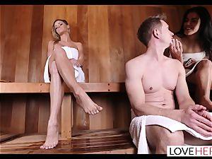 LoveHerFeet - Jessa Rhodes torrid And steaming sole intercourse