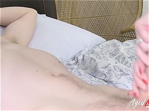 AgedLovE buxom Lacey Starr xxx and blowage