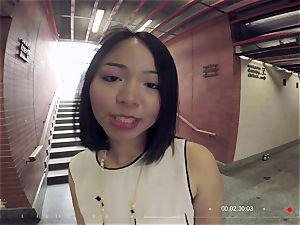tarts ABROAD - Thai tourist sprays in warm point of view fuck-a-thon