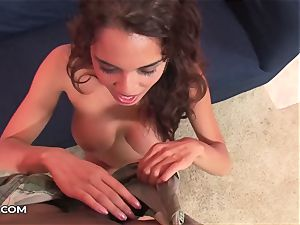 Renea Cruz in a pov shag Sssion