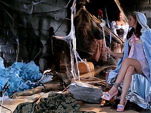 fairy godmother Julia Ann grants a pricks dream
