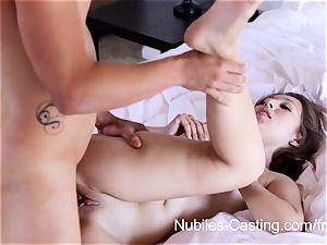 Nubiles casting - hardcore porno audition for newcomer