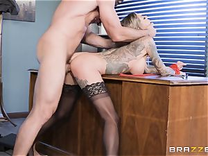 Karma Rx takes cootchie drilled in the office