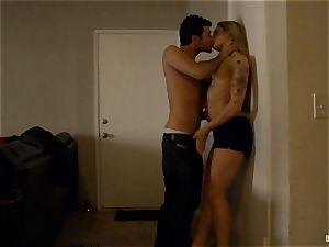 Dahlia's home flick hookup tape with James Deen