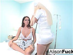 weird Nurse Nikita attempts to heal Alison