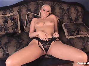 mistress Vanessa tells you to masturbate off and jism