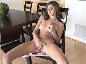 succulent Ariana Marie erotic solo masturbation