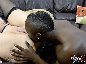 AgedLovE Lacey Starr interracial xxx ass-fuck