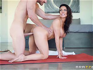 Kendra zeal hammered after super-steamy massage