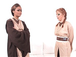 Jedi flesh Diamond flashes Penny Pax the intensity