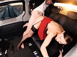 porked IN TRAFFIC - brit Tina Kay boinked in the car