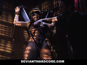 DeviantHardcore -bitchy teen restrain bondage screwed By Stranger