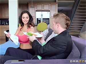 Ava Addams is drilled in both her wet slots