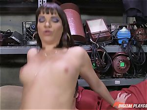 Dana DeArmond gets her magnificent tight cooch licked and toyed with
