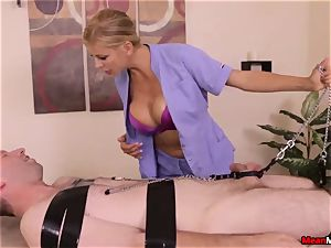 Alexis Fawx gives scorching glad ending