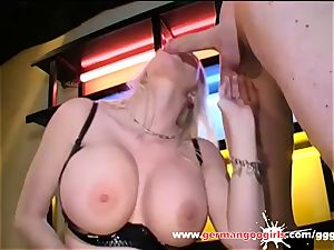 Melanie Moon super meaty milk cans and cum decorated