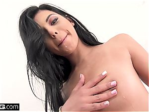 Gina showcases Manuel who is the boss