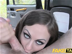 fake taxi Posh damsels swollen beaver and bootie ravaged