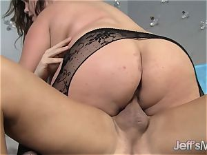 huge titted Kacey Parker is crammed with knob
