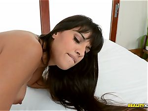 Mercedes Carrera sits on his face