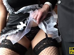 obese british maid Lucy pussyfucked