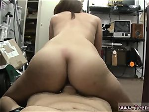 college girl amateur torn up in her favorite pair of high-heeled shoes!