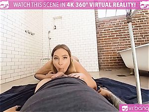 VR porno - Blair Getting ravaged firm by the Plumber
