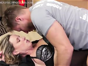 cougar Jodi West fucks fellow