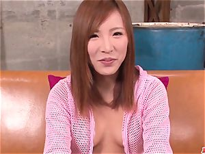 mind-blowing audition for porn gonzo have fun along steaming Yuika Aki