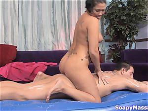 London Keyes sucking penis