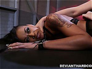 DeviantHardcore - skin Diamond Fetish pummel with Gabriella Paltrova